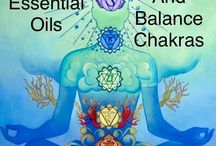 Essential Oils to Heal and Balance your Chakra / Pure essential oils have an inherent harmony and order in their energy pattern. Like anything with harmonious energy, they can be used to heal the chakras and help restore specific balance to each of the chakras.