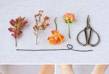 Поделки из цветов