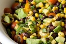 Healthy Salads / Healthy Salad recipes, Meat Free Salads