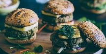 Meat Free Healthy Burgers, Wraps, Tacos, Burritos, Fritters, Balls / Vegetarian Burgers, Meat Free Pattys, Vegetable and whole grain based clean eating recipes.