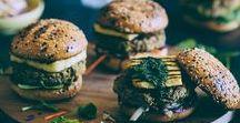 Meat Free Healthy Burgers / Vegetarian Burgers, Meat Free Pattys, Healthy clean eating