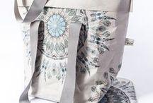 sewn of Washpapa [washable paper] / wytwory rękodzieła z papieru, który można prać i ponownie używać