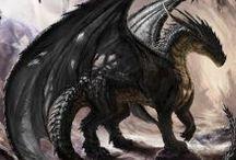 Dragon ❤️ / Mythologie ❤️❤️❤️