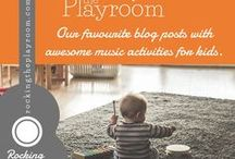 Rocking the Playroom Blog Posts / Blog posts from Rocking the Playroom, where parents and teachers can find FREE music activities to do with babies, toddlers, preschoolers, and primary/elementary schoolers.