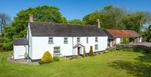 SOLD! Equestrian property for sale Woolsery, Bideford, Devon EX39 5PY / Woolsery, Bideford, Devon EX39 5PY  A traditional, period farmhouse with holiday cottage and range of barns, surrounded by grounds of about 43 acres.  Guide Price Of £950,000 - UNDER OFFER