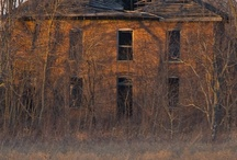 LEFT AND ABANDONED / OLD HOUSES / by Max Shirk Jr