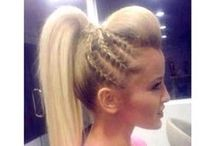 CHEER HAIRSTYLES / by Cheerleading Company // www.cheerleading.com