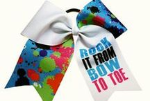 BOWS! BOWS! BOWS! / by Cheerleading Company // www.cheerleading.com