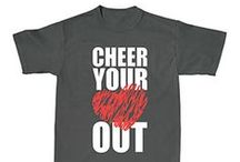 T-SHIRTS / by Cheerleading Company // www.cheerleading.com