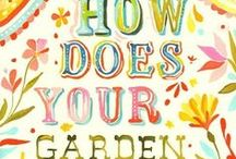 How Does Your Garden Grow? / Gardening and landscaping ideas / by Gretchen W.