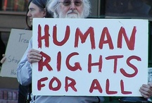 Human Rights / human rights, women's rights, gay rights, human slavery, human trafficking, poverty, activism, social justice, racism, economic justice.  Everyone can be an activist. / by Stacerina Ray