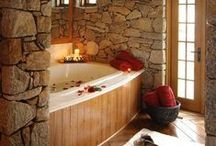 HOMES: Master bath / Master Bathroom ideas and suggestions  **If you'd like to be ADDED to this board, just send me a quick note here on Pinterest or email me at helloredds@gmail.com.