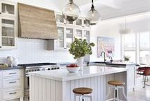 HOMES: Kitchens / Ideas for beautiful kitchens.  **If you'd like to be ADDED to this board, just send me a quick note here on Pinterest or email me at helloredds@gmail.com.