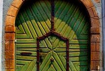 HOMES: Doorways/Entrances / All sorts of great doors and entrances~