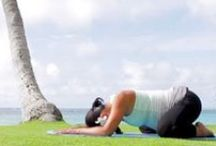 Prenatal Yoga Poses & Videos / by Fit Pregnancy
