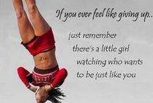 Cheerspirations / Motivational Quotes about Cheer  / by Cheerleading Company: Bow to Toe