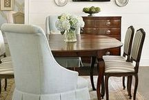HOMES: Dining Rooms / Great dining rooms~