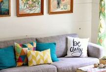 s i s t e r ' s * h o u s e / bright, colorful decorating ideas for my sister's new house