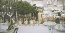 Eco-Friendly Wedding / Rustic, eco-friendly, backyard wedding inspiration.