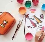 LKB x Boyarde / Due to popular demand, we've collaborated with Boyarde Messenger to bring you a 26 piece collection. Personalise your favourite L.K.Bennett handbag with our latest collection of pop-art inspired, leather alphabet stickers... http://fal.cn/LKBxBoyarde