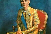 Queen Farah Diba do Irã (Pérsia)
