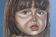 Paintings John Dunk / schilderijen, portretten, landschappen, stillevens, dieren