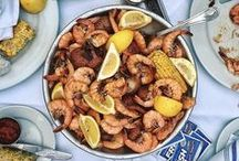 Coastal Cuisine / Check out our tempting menu of seafood and beyond.