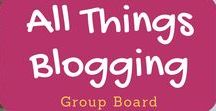 All Things Blogging / Welcome to the All Things Blogging Board! Pins on blogging, building traffic, social media, monetizing, and more. Make sure to repin once for every pin you add. Please keep pins on topic or they will be deleted. To contribute to this board, follow me, follow the board, and email me at dividenddaze1@gmail(dot)com.