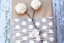 It's a Wrap / Creative ways to wrap gifts for Christmas, holidays, and other events. / by Tanya Patterson