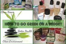 Be Green, Save Green / by Allison Maxwell