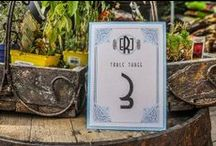 wedding - table numbers / by r3mg:: creative boutique