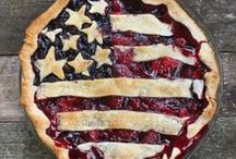 4th of July / Proudly display your loyalty to the old red, white, and blue.