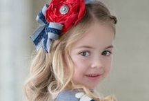 Girls Headbands and Accessories / Designer and Custom Designed Headbands and Accessories. The perfect finishing touch for a head to toe designer look for your  special girl.