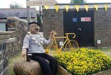 Le Tour de France (Yorkshire) 2014. / Allez Le Tour!