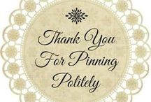 Altered Pinterest Etiquette / ♥ We hope this board helps ALL pinners ♥. Our request: WE HAVE NO REQUESTS as we aren't control freaks. Feel free to comment and we don't even mind if you don't read the entire board before commenting, so even if we don't agree with you we won't call you names, insult your pins, how you pin and your lack of 'storyboards'. Everyone has different tastes in pins and shouldn't be insulted because of that difference.