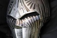 Masks // Helmets / Mask and helmet reference and inspiration / by Nathan Strange