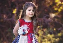 Persnickety Summer Celebration 2015 / Let the celebration begin, Persnickety's Summer Collection is perfectly patriotic. Charming colonial inspired prints and red, white, and blue abound, she will stand out from the crowd at 4th of July festivities. / by LaBella Flora Children's Boutique
