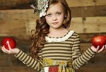 Fall Fashion for Girls / Girls Boutique Clothing for Girls. An online boutique featuring this season's most popular styles and designers for newborn to tween. Everything you need for your special girl from head-to-toe / by LaBella Flora Children's Boutique