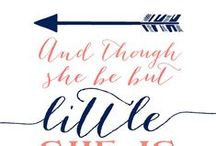 Nursery quote - I'm going to make with watercolor