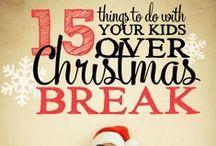 Winter Break Activites / Keep them happy all winter break long