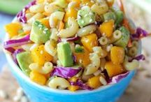 Food and Recipes / Easy and healthy snacks, lunches and desserts