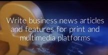 Business journalism tips