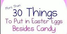 Easter Ideas / Easter ideas for the frugal budget. Unique ideas to do with the kids and family.