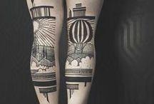 + Thieves of Tower + / collaboration entre le tatoueur et artiste Houston Patton et le creative director Dagny Fox
