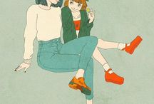 米津玄師's illust