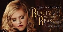 """Beauty and the Beast Videos / With the release of the live-action remake of the tale that has transcended time, """"Beauty and the Beast"""" comes some amazing covers by various artists."""