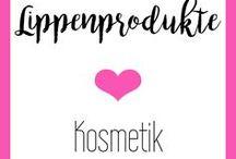 Lippenprodukte || Kosmetik / Lips, Make Up, Look, Lipliner, Lipstick, Lippenstift, rose, nude, dezent, jeden Tag, Alltag, red, rot, Anleitung, Tutorial, volle Lippen, natürlich, größer