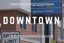 Downtowns and Town Centers