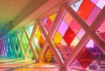 spectrum of colour