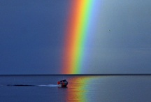 Rainbow colors / all colors under the sun and moon / by Marian Holcomb Rainer